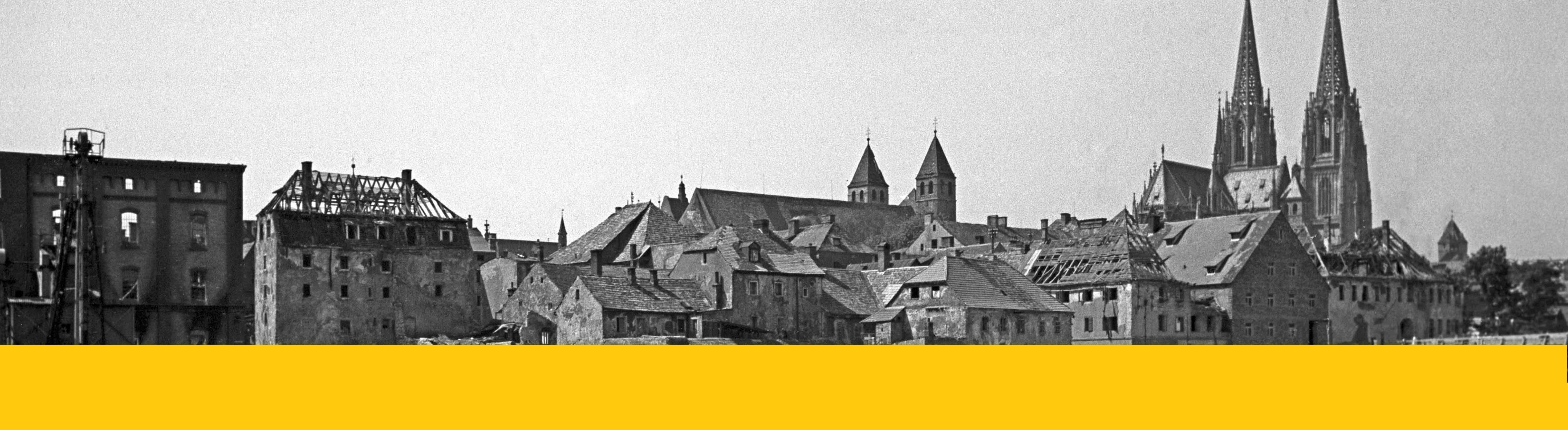 Digitale Ausstellung zum Kriegsende in Regensburg