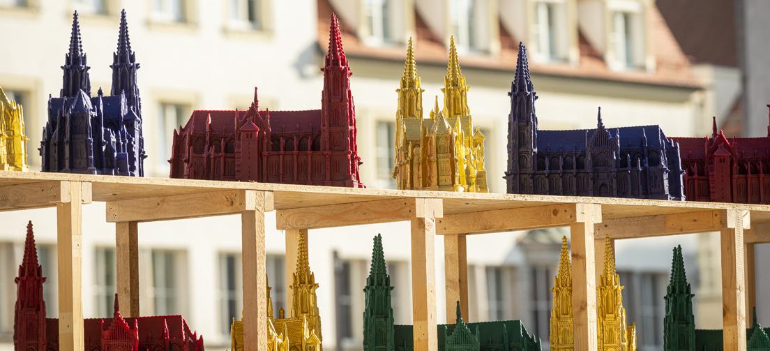 Skulptureninstallation von Ottmar Hörl